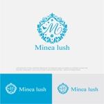 drkigawaさんのマツエクサロン『Minea lush』のロゴへの提案