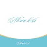 le_cheetahさんのマツエクサロン『Minea lush』のロゴへの提案