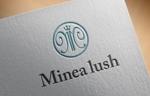 FISHERMANさんのマツエクサロン『Minea lush』のロゴへの提案