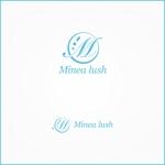 VainStainさんのマツエクサロン『Minea lush』のロゴへの提案
