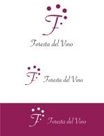 dd51さんのワインサロン「Foresta del Vino」 のロゴへの提案