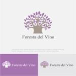 drkigawaさんのワインサロン「Foresta del Vino」 のロゴへの提案