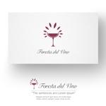 conii88さんのワインサロン「Foresta del Vino」 のロゴへの提案