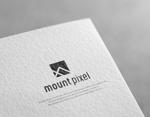J-wonderさんの「mount pixel」のロゴ への提案