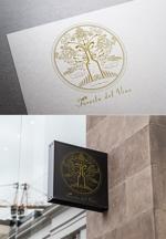 tiadogsさんのワインサロン「Foresta del Vino」 のロゴへの提案