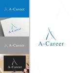 charisabseさんの外国人材紹介、日本語教育「A-Career」のロゴへの提案