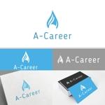 minervaabbeさんの外国人材紹介、日本語教育「A-Career」のロゴへの提案