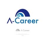 theta1227さんの外国人材紹介、日本語教育「A-Career」のロゴへの提案
