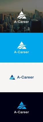tanaka10さんの外国人材紹介、日本語教育「A-Career」のロゴへの提案