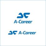 queuecatさんの外国人材紹介、日本語教育「A-Career」のロゴへの提案