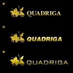 YPK-rinkaさんの「QUADRIGA」のロゴ作成への提案
