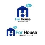 cementmilkさんの「株式会社フォーハウス」のロゴ作成への提案