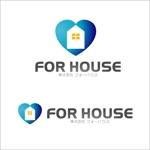 kozyさんの「株式会社フォーハウス」のロゴ作成への提案
