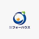 mtyk922さんの「株式会社フォーハウス」のロゴ作成への提案