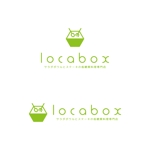power_diveさんの低糖質専門の飲食店「locabox」のロゴへの提案