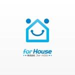 mikejiさんの「株式会社フォーハウス」のロゴ作成への提案