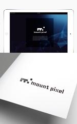 y203t043さんの「mount pixel」のロゴ への提案