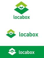 dd51さんの低糖質専門の飲食店「locabox」のロゴへの提案