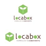 raincandysさんの低糖質専門の飲食店「locabox」のロゴへの提案
