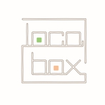 marudesignさんの低糖質専門の飲食店「locabox」のロゴへの提案