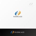 shibamarutaroさんの財務・金融コンサルティング、FP事務所「株式会社FLYING ACE」のロゴへの提案