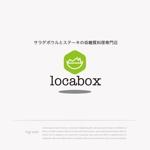 mg_webさんの低糖質専門の飲食店「locabox」のロゴへの提案