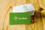 nakagami3さんの低糖質専門の飲食店「locabox」のロゴへの提案
