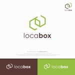 Morinohitoさんの低糖質専門の飲食店「locabox」のロゴへの提案