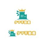 saki8さんの不動産会社「タマ不動産」のロゴへの提案