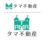 megu01さんの不動産会社「タマ不動産」のロゴへの提案