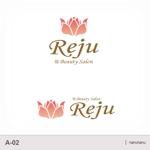 hanuhanuさんのトータルケアビューティーサロンのロゴへの提案