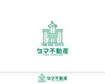 tyapaさんの不動産会社「タマ不動産」のロゴへの提案