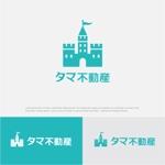 drkigawaさんの不動産会社「タマ不動産」のロゴへの提案