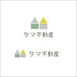 queuecatさんの不動産会社「タマ不動産」のロゴへの提案