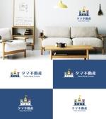 tobiuosunsetさんの不動産会社「タマ不動産」のロゴへの提案