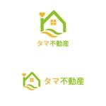 osudmfさんの不動産会社「タマ不動産」のロゴへの提案