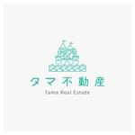 sync_designさんの不動産会社「タマ不動産」のロゴへの提案