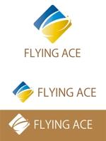 dd51さんの財務・金融コンサルティング、FP事務所「株式会社FLYING ACE」のロゴへの提案