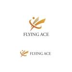 VEROさんの財務・金融コンサルティング、FP事務所「株式会社FLYING ACE」のロゴへの提案