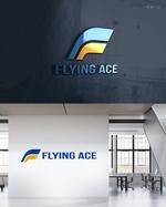 rochasさんの財務・金融コンサルティング、FP事務所「株式会社FLYING ACE」のロゴへの提案