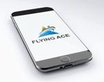 FISHERMANさんの財務・金融コンサルティング、FP事務所「株式会社FLYING ACE」のロゴへの提案