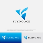 drkigawaさんの財務・金融コンサルティング、FP事務所「株式会社FLYING ACE」のロゴへの提案