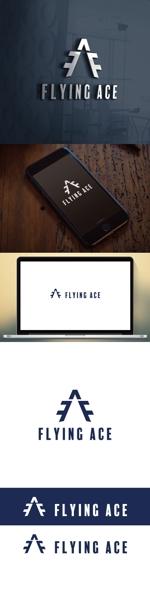 cozzyさんの財務・金融コンサルティング、FP事務所「株式会社FLYING ACE」のロゴへの提案