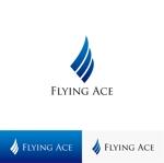 KEI_703さんの財務・金融コンサルティング、FP事務所「株式会社FLYING ACE」のロゴへの提案
