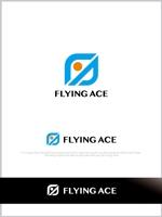 mahou-photさんの財務・金融コンサルティング、FP事務所「株式会社FLYING ACE」のロゴへの提案