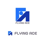 MacMagicianさんの財務・金融コンサルティング、FP事務所「株式会社FLYING ACE」のロゴへの提案