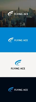tanaka10さんの財務・金融コンサルティング、FP事務所「株式会社FLYING ACE」のロゴへの提案