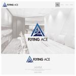 onesizefitsallさんの財務・金融コンサルティング、FP事務所「株式会社FLYING ACE」のロゴへの提案