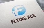 web-pro100さんの財務・金融コンサルティング、FP事務所「株式会社FLYING ACE」のロゴへの提案
