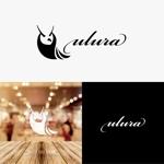 quegeさんのまつ毛エクステサロン【ulura(ウルラ)】のロゴ制作への提案